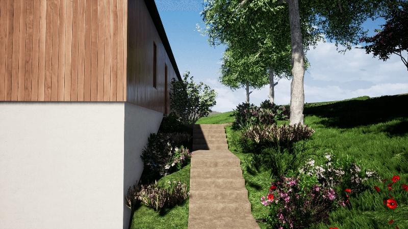 Maison à ossature bois dans le Pilat