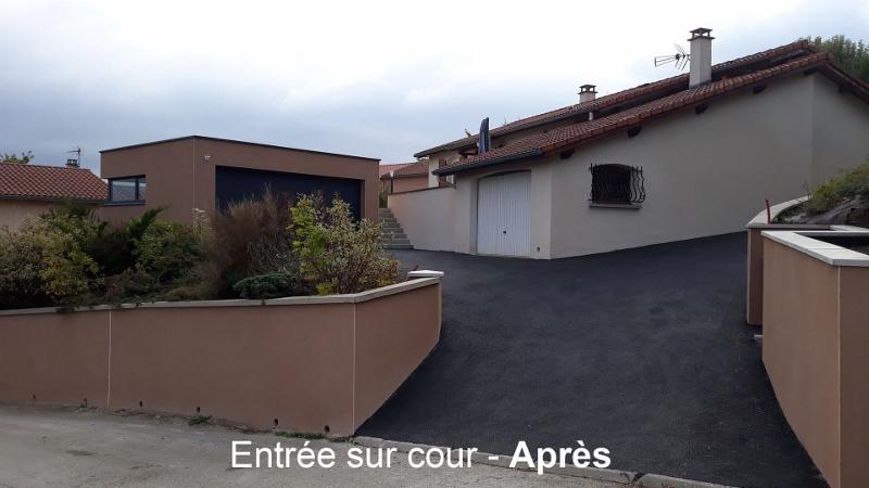 Un nouveau Garage et une Terrasse requalifiée