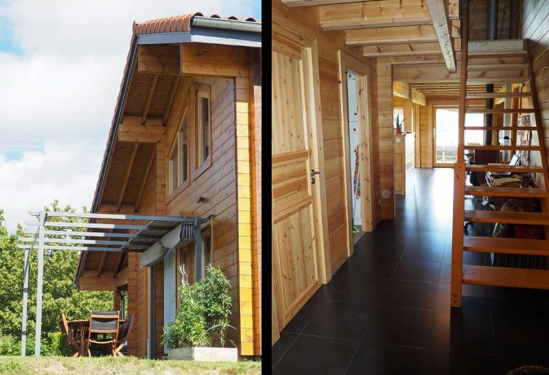 Stéphen Mure Architecte - Saint-Etienne - Monts du Forez - Maison bois - Isabelle & Christophe - Rez de chaussée