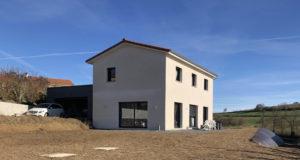 Stéphen Mure Architecte - Saint-Etienne - Maison passive - Nelly & Yoann - Extérieur