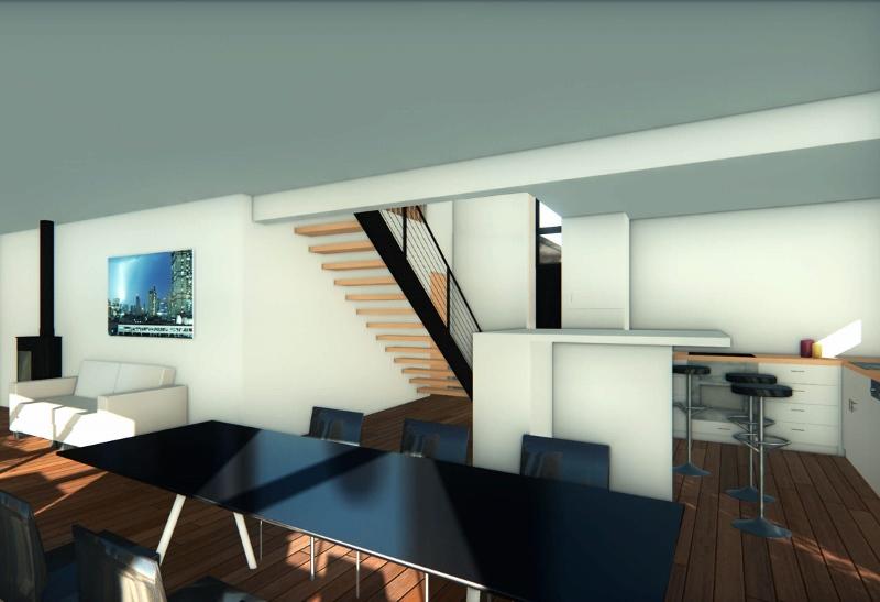Stéphen Mure Architecte - Saint-Etienne - Maison individuelle - Anne-Lise & Cédric - Séjour