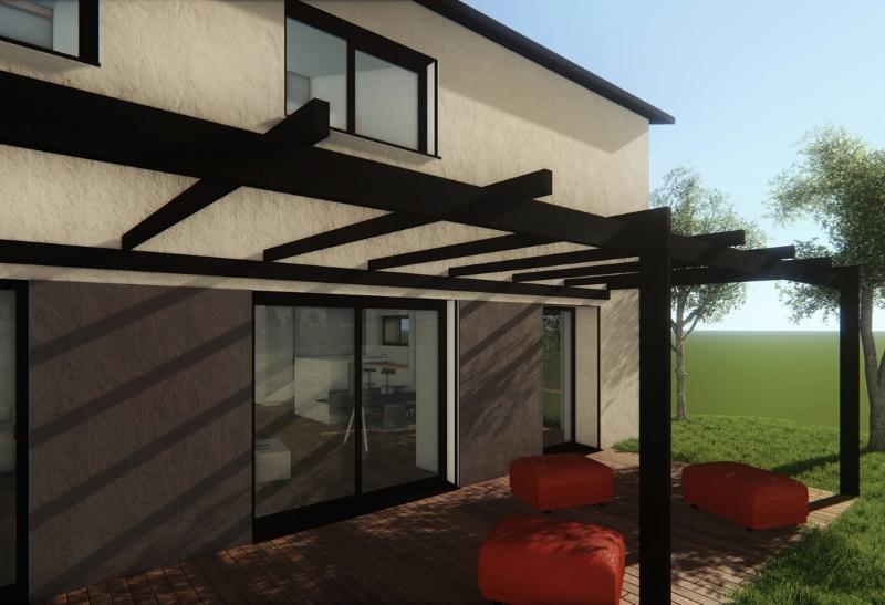 Stéphen Mure Architecte - Saint-Etienne - Maison individuelle - Anne-Lise & Cédric - Terrasse