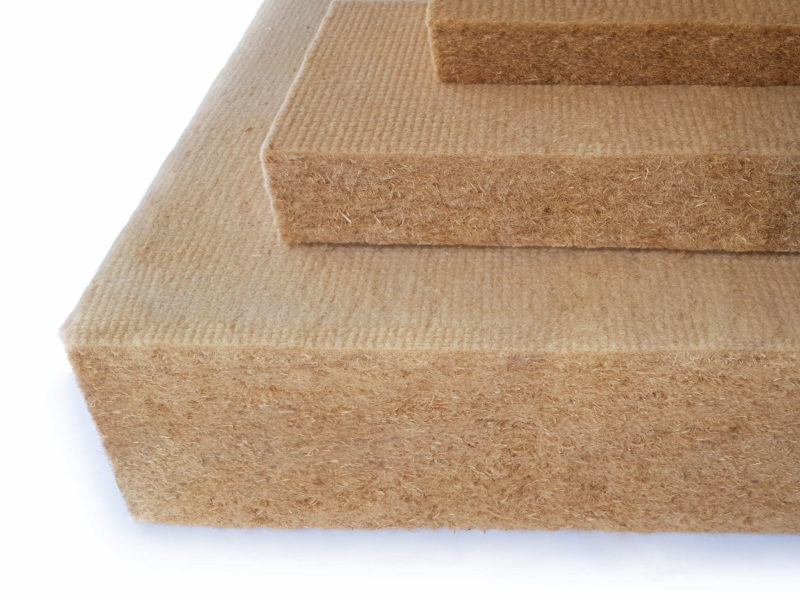 Un isolant écologique : la laine de bois