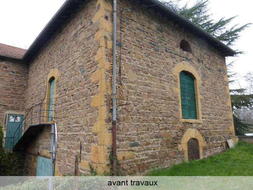 Réhabilitation d'une grange en Maison Passive - Stéphen Mure Architecte (1)' Avant travaux