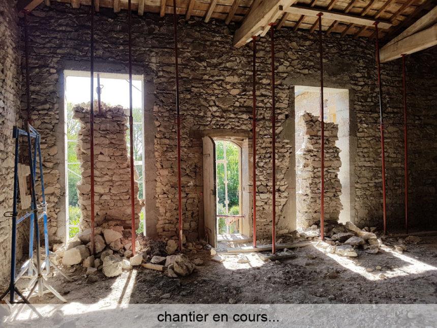 Réhabilitation d'une grange en Maison Passive - Stéphen Mure Architecte (2)' Chantier