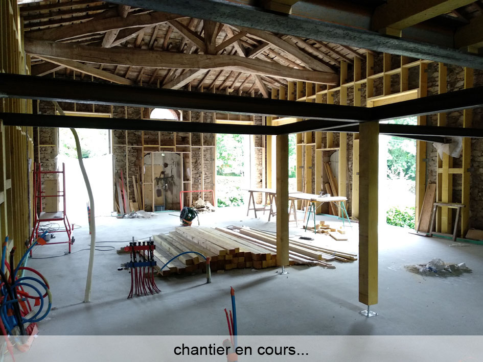 Transformation d'une grange – Rénovation Maison Passive