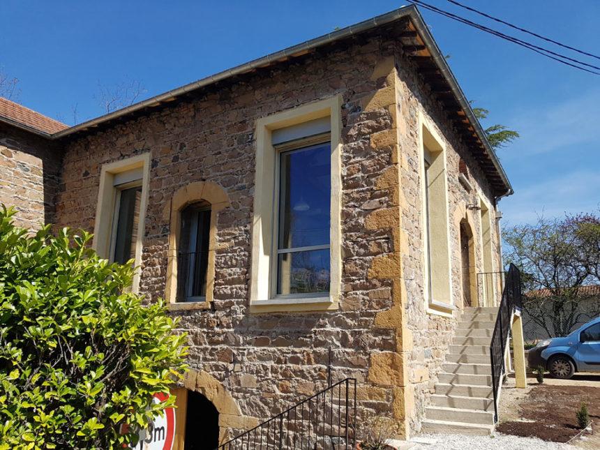 Réhabilitation d'une grange en Maison Passive - Stéphen Mure Architecte - Façades
